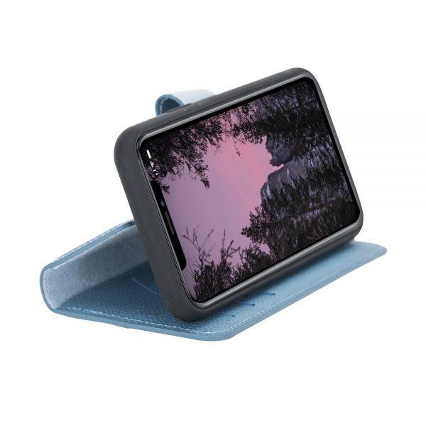 iPhone 11 Pro - Detachable wallet case – Saffiano Leithen