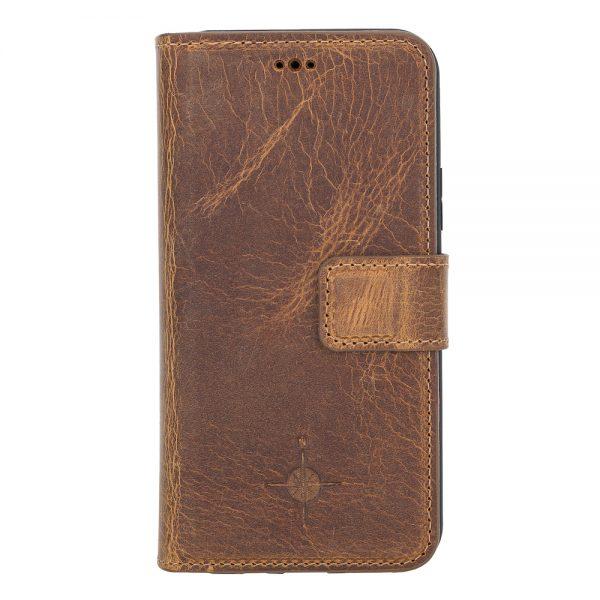 iPhone 11 Pro – Detachable wallet case – Villa Cruoninga Cognac