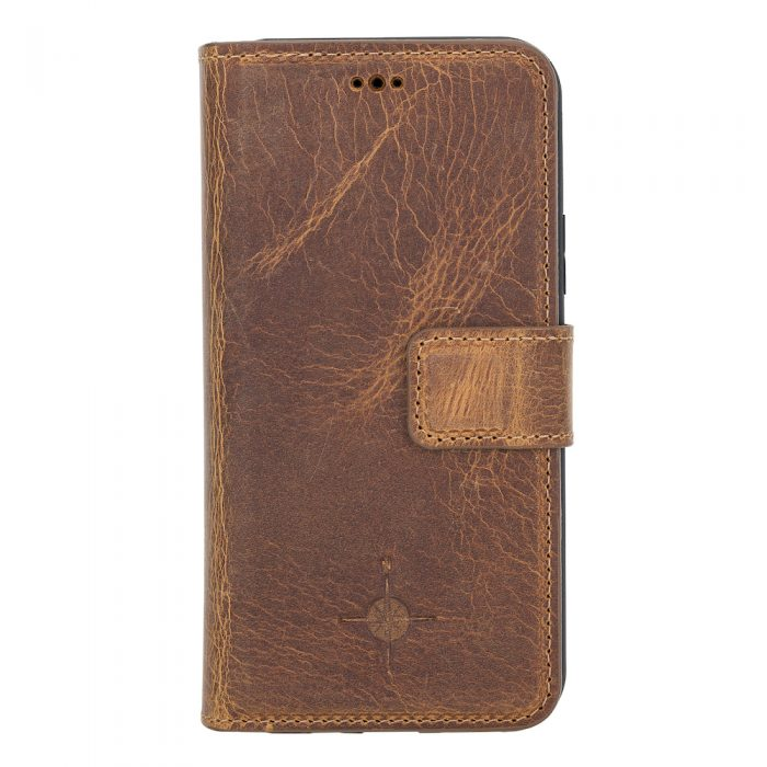 iPhone 11 Pro – Detachable wallet case – Villa Cruoninga Cognac
